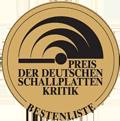 Preis der Deutschen Schallplattenkritik 2019