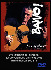 Lulo Reinhardt Project - Bawo Live DVD
