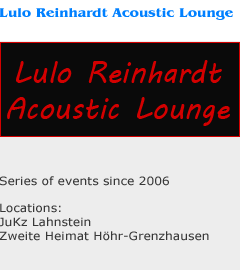 Lulo Reinhardt Acoustic Lounge