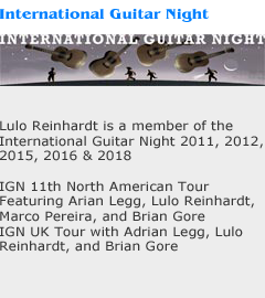Intzernational Guitar Night